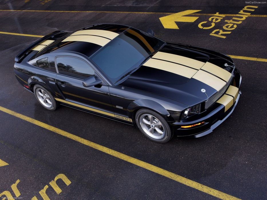Ford Mustang Shelby GT-H 2006 wallpaper