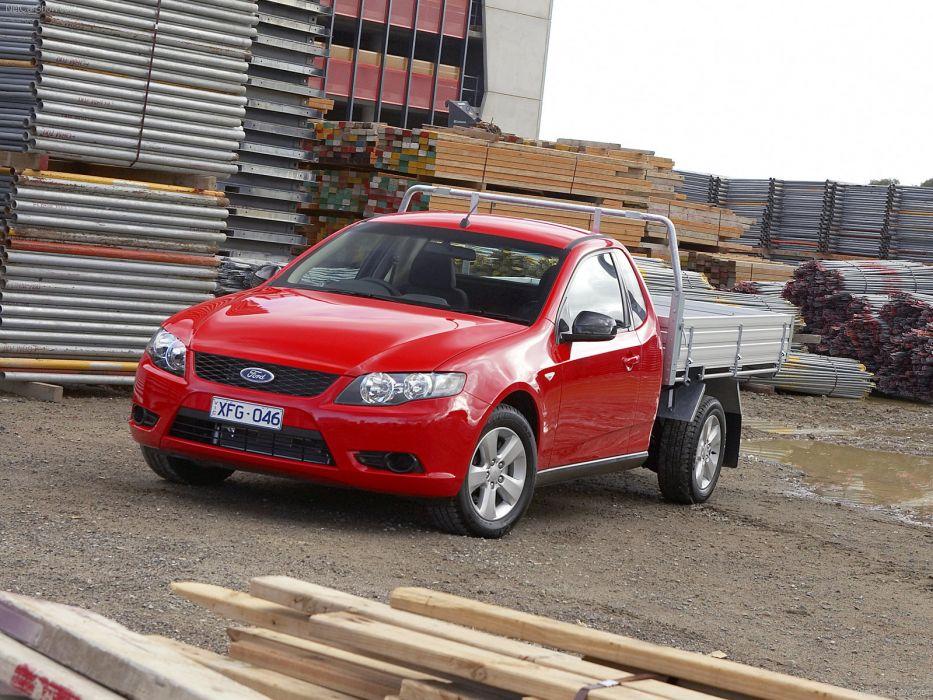 Ford FG Falcon Ute 2008 wallpaper