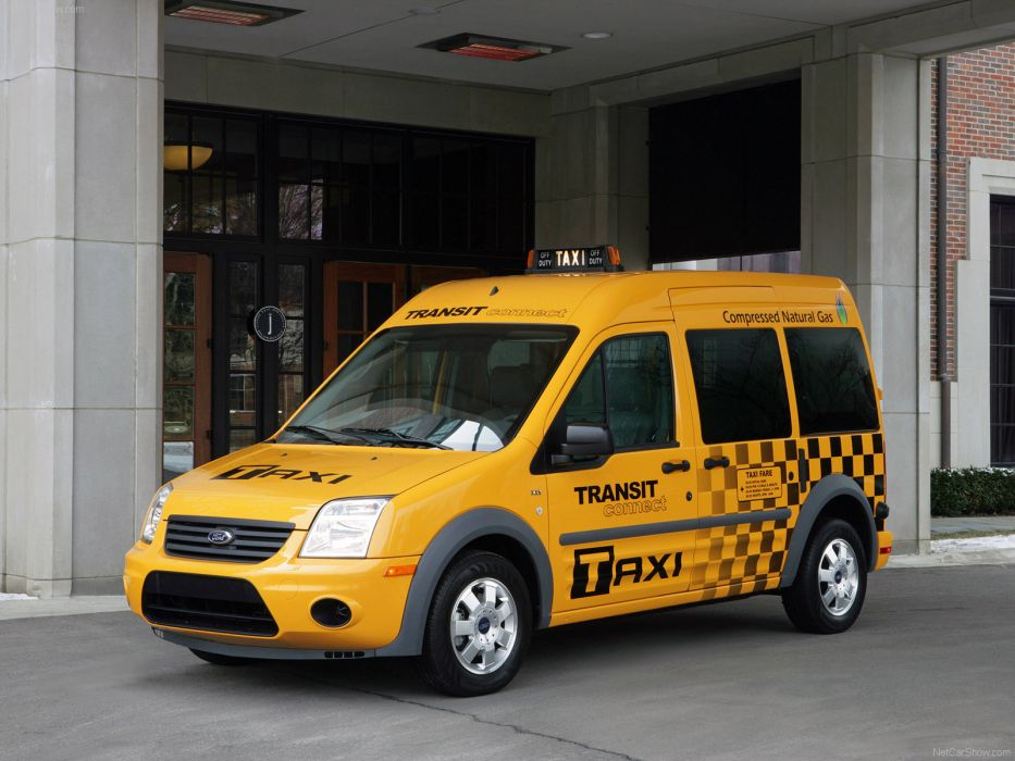 Ford Transit Connect Taxi 2011 wallpaper