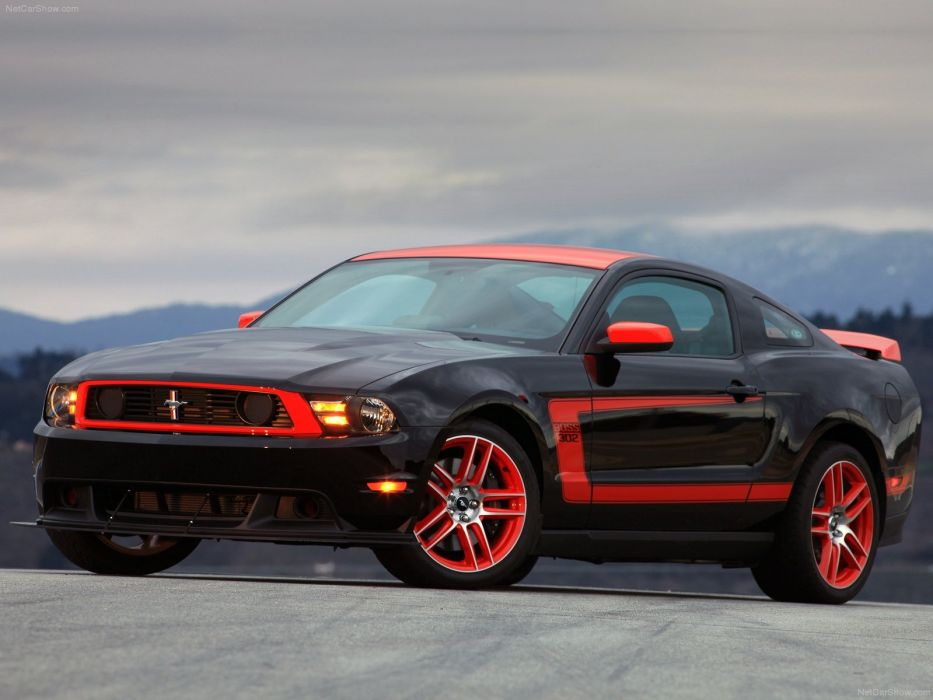 Ford Mustang Boss 302 Laguna Seca 2012 wallpaper