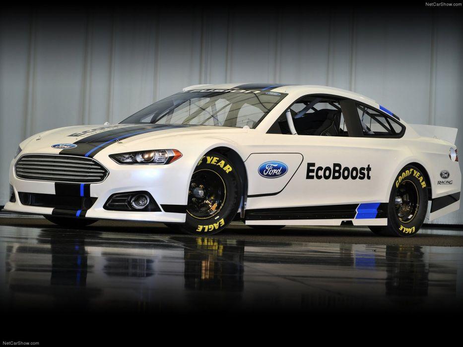 Ford Fusion NASCAR 2013 wallpaper