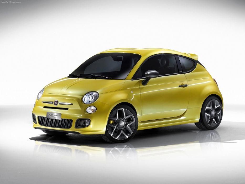 Fiat 500 Coupe Zagato Concept 2011 wallpaper