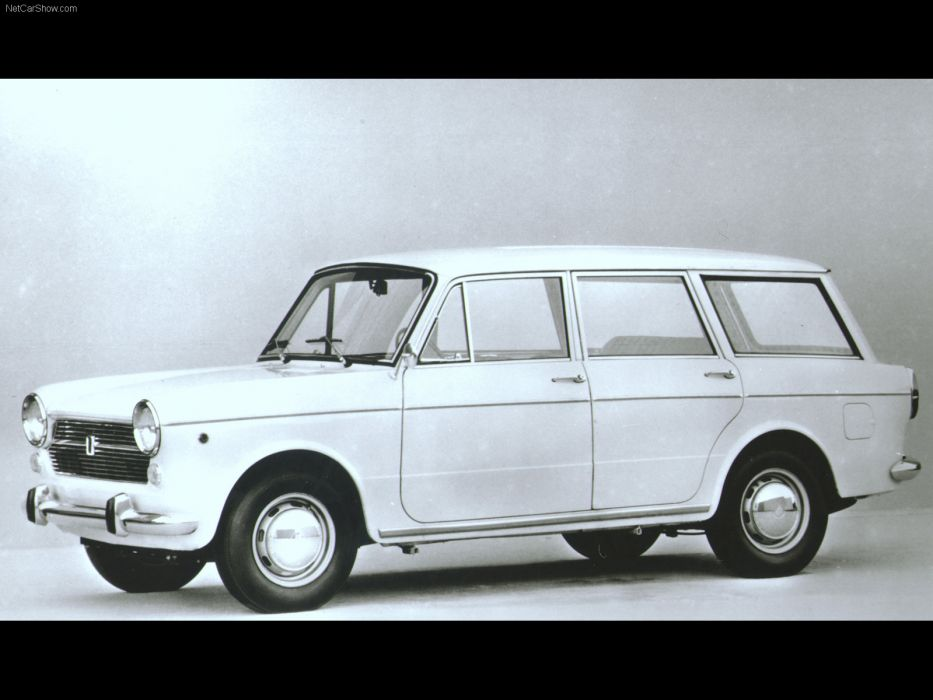 Fiat 1100 R Station Wagon 1966 wallpaper