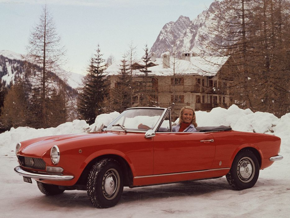 Fiat 124 Sport Spider 1969 wallpaper