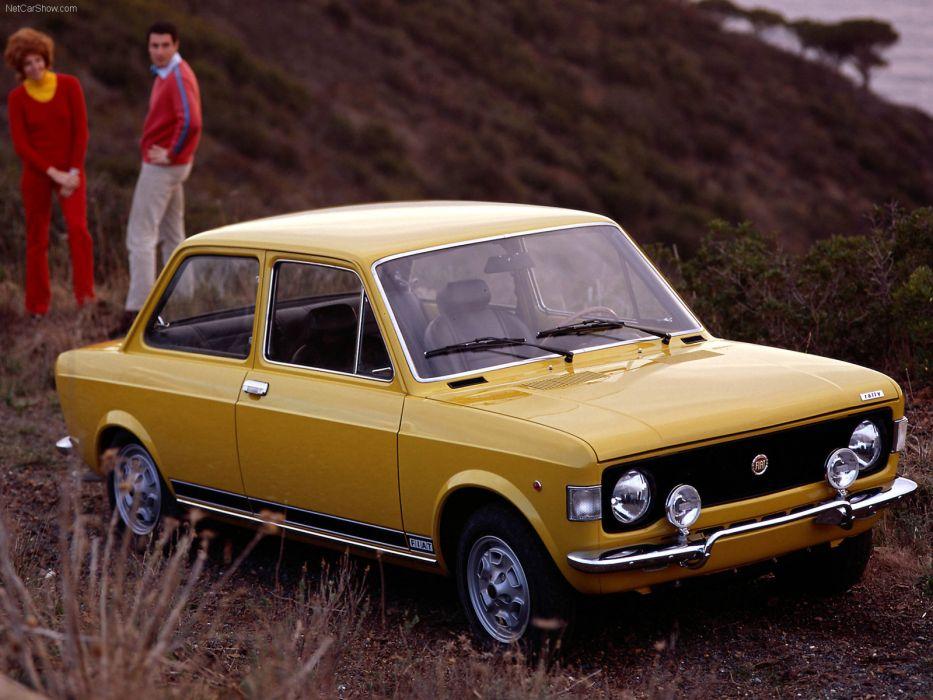 Fiat 128 Rally 1972 wallpaper
