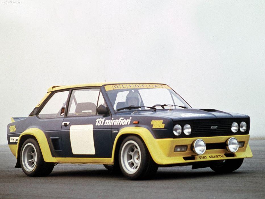 Fiat 131 Abarth Rally 1976 wallpaper