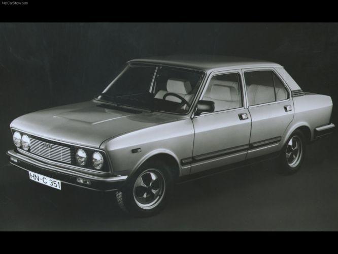 Fiat 132 Diesel 1978 wallpaper