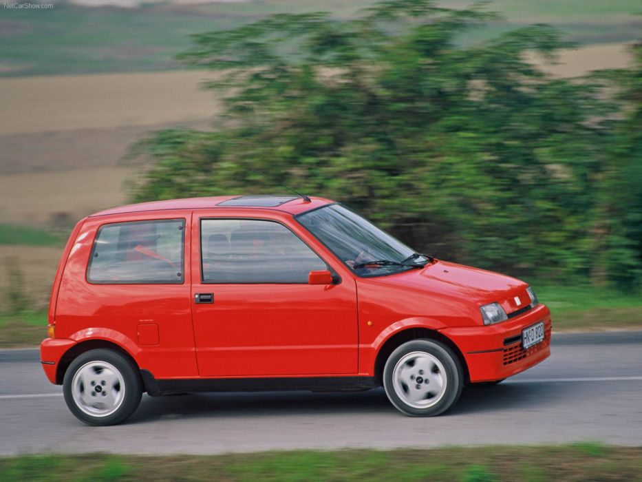 Fiat Cinquecento Sporting 1_1i 1994 wallpaper
