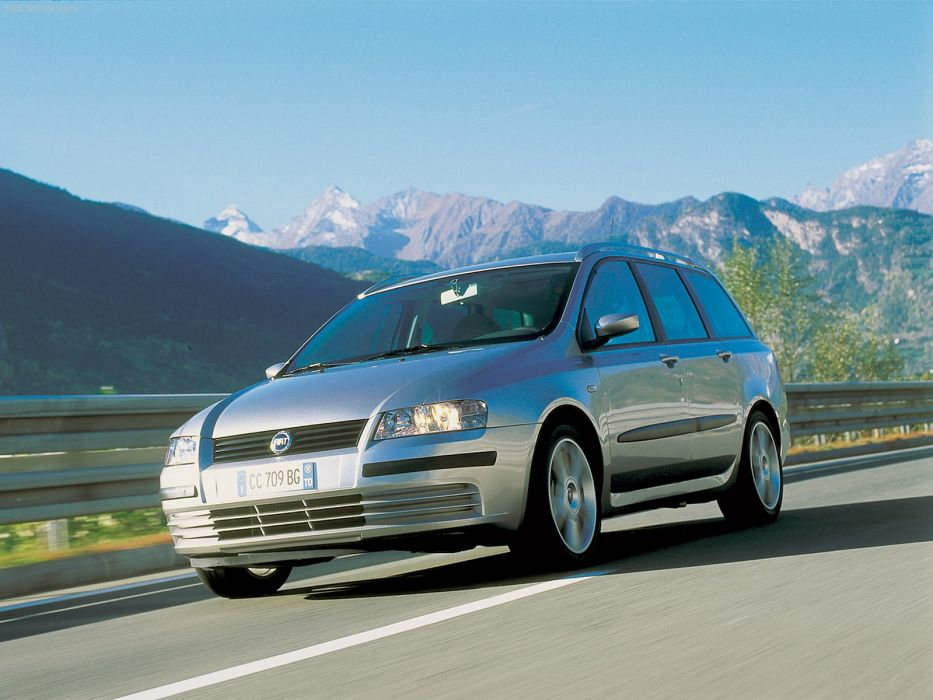 Fiat Stilo Multi Wagon Dynamic 2002 wallpaper