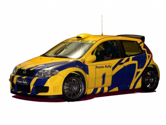 Fiat Punto Rally 2004 wallpaper