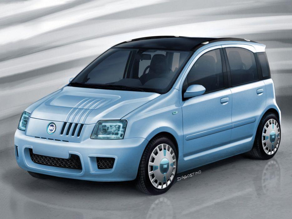 Fiat Panda Multi Eco Concept 2006 wallpaper