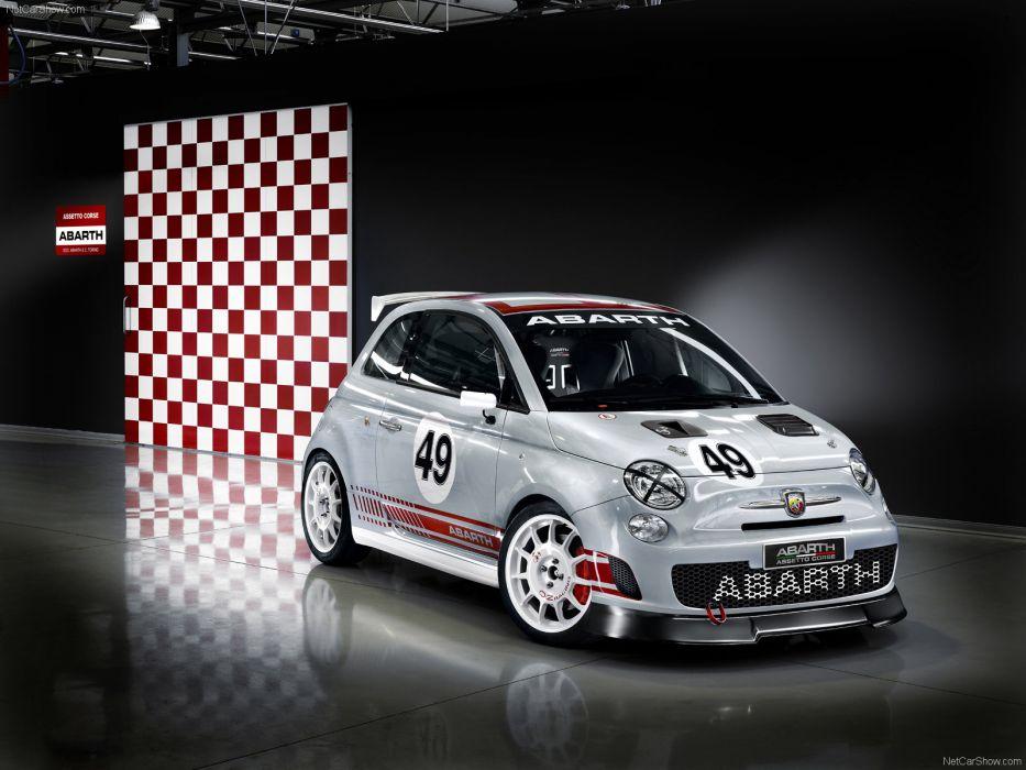 Fiat 500 Abarth Assetto Corse 2009 wallpaper