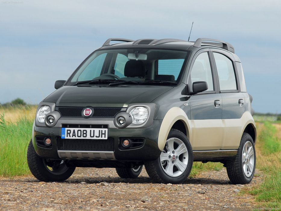 Fiat Panda Cross 2008 wallpaper