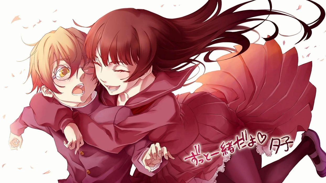 artwork anime anime girls Kanoe Yuuko Dusk Maiden of Amnesia wallpaper