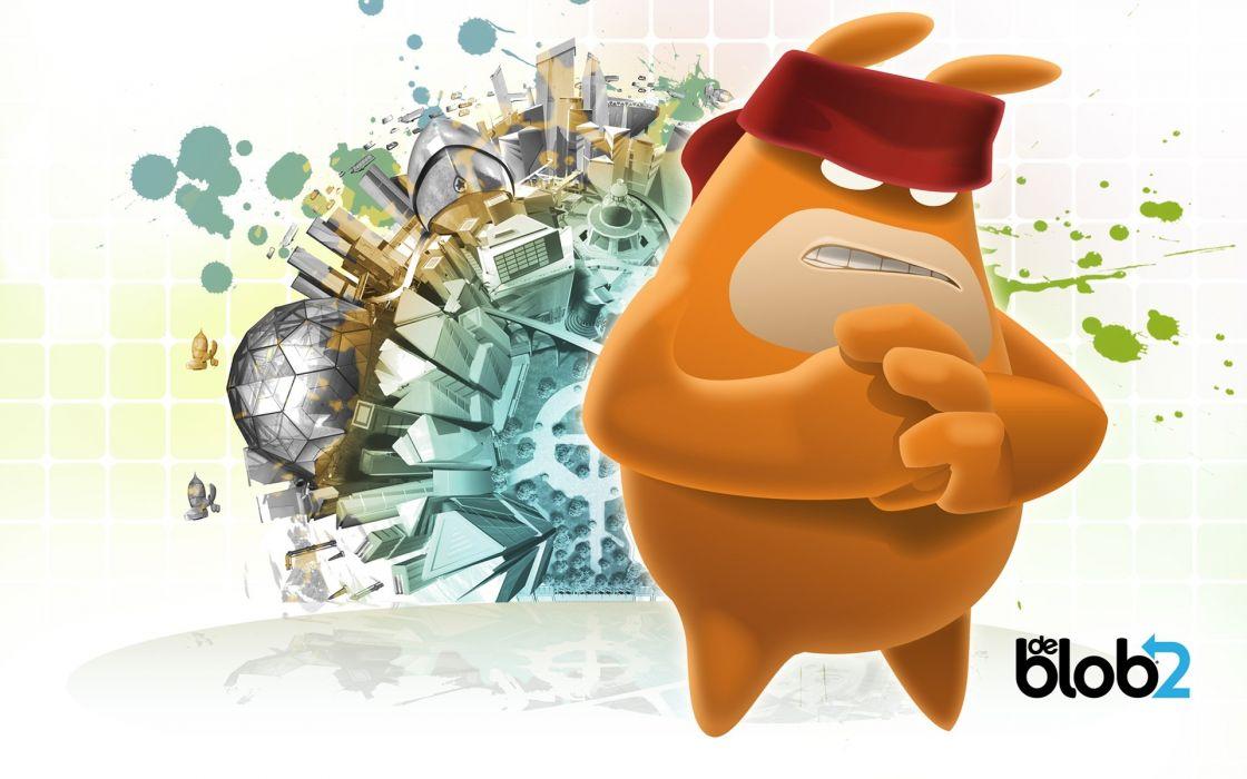 video games Blob 2 wallpaper
