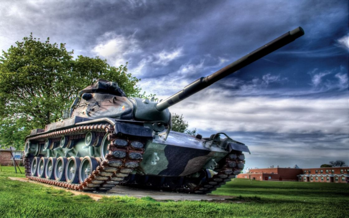 military tanks HDR photography wallpaper