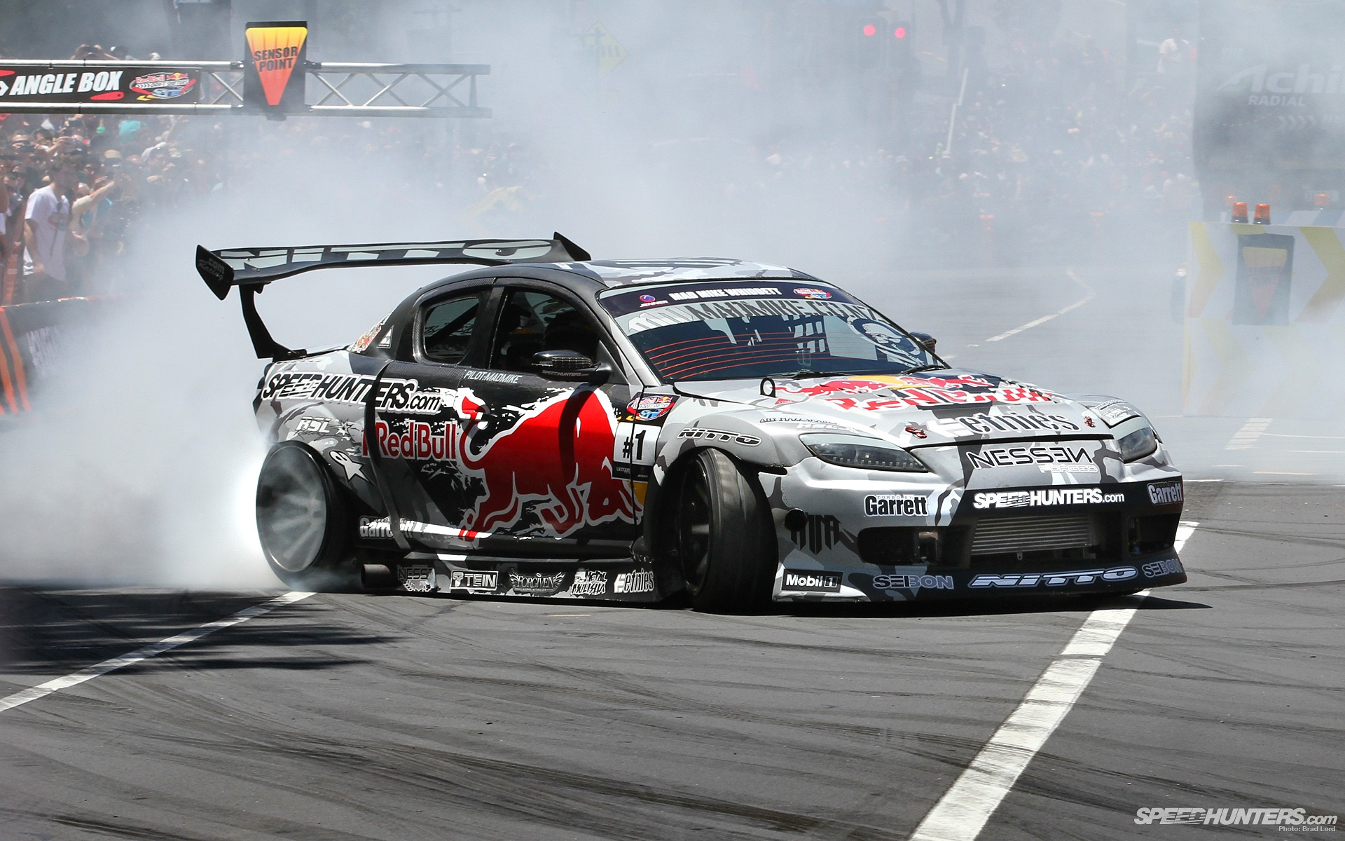 Cars Smoke Mazda Drift Wallpaper 1920x1200 222307 Wallpaperup