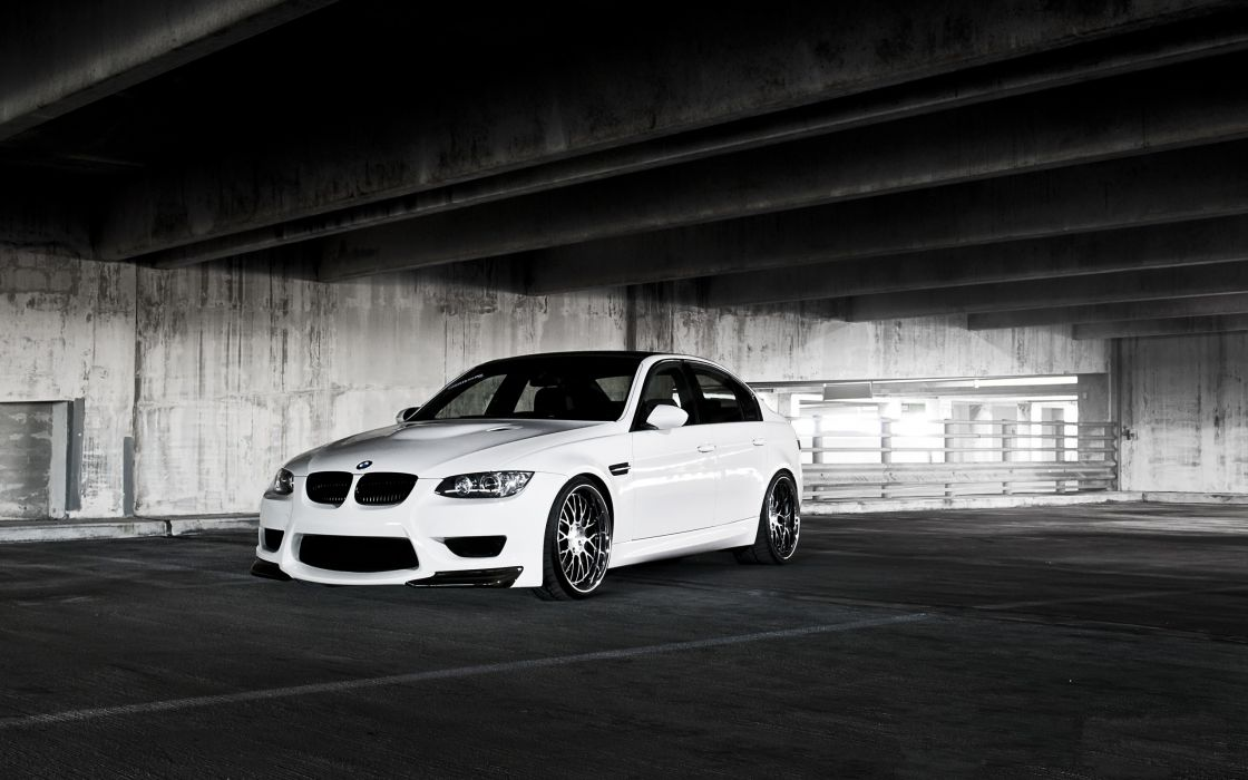 white cars vehicles supercars tuning wheels racing BMW M3 sports cars luxury sport cars speed automobiles wallpaper
