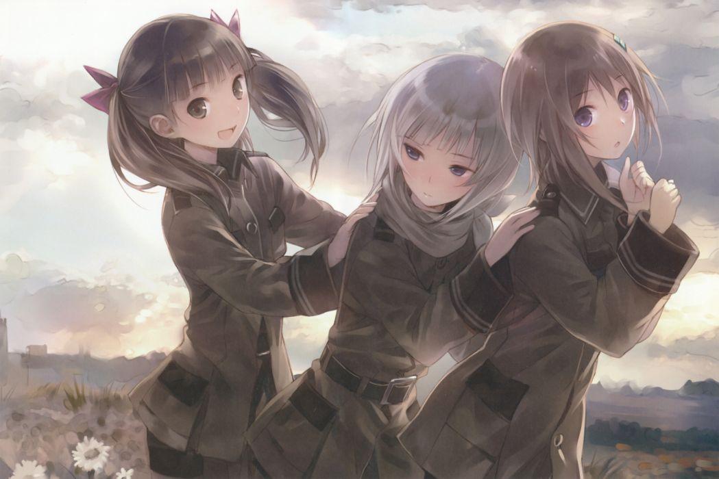 twintails Sora No Woto Kannagi Noel Kishida Mel anime girls Suminoya Kureha Sorami Kanata wallpaper