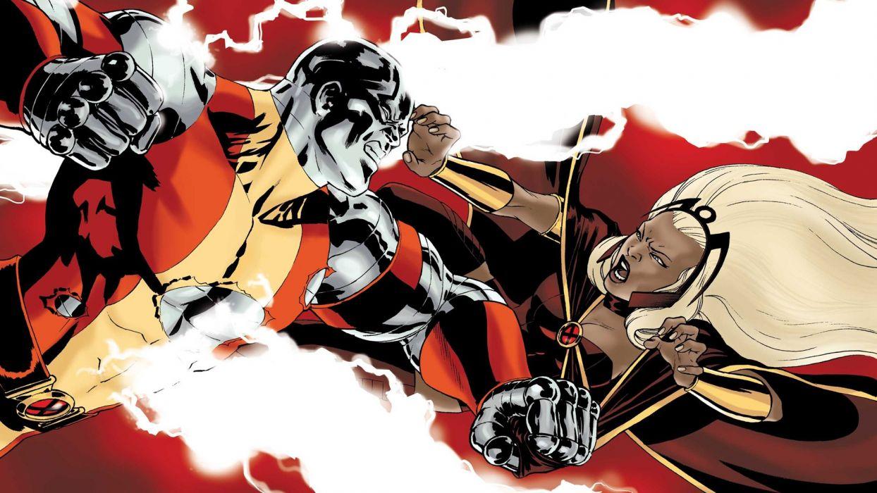 comics colossus Storm (comics character) wallpaper