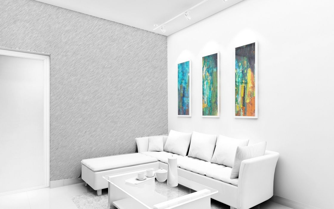 architecture room wallpaper