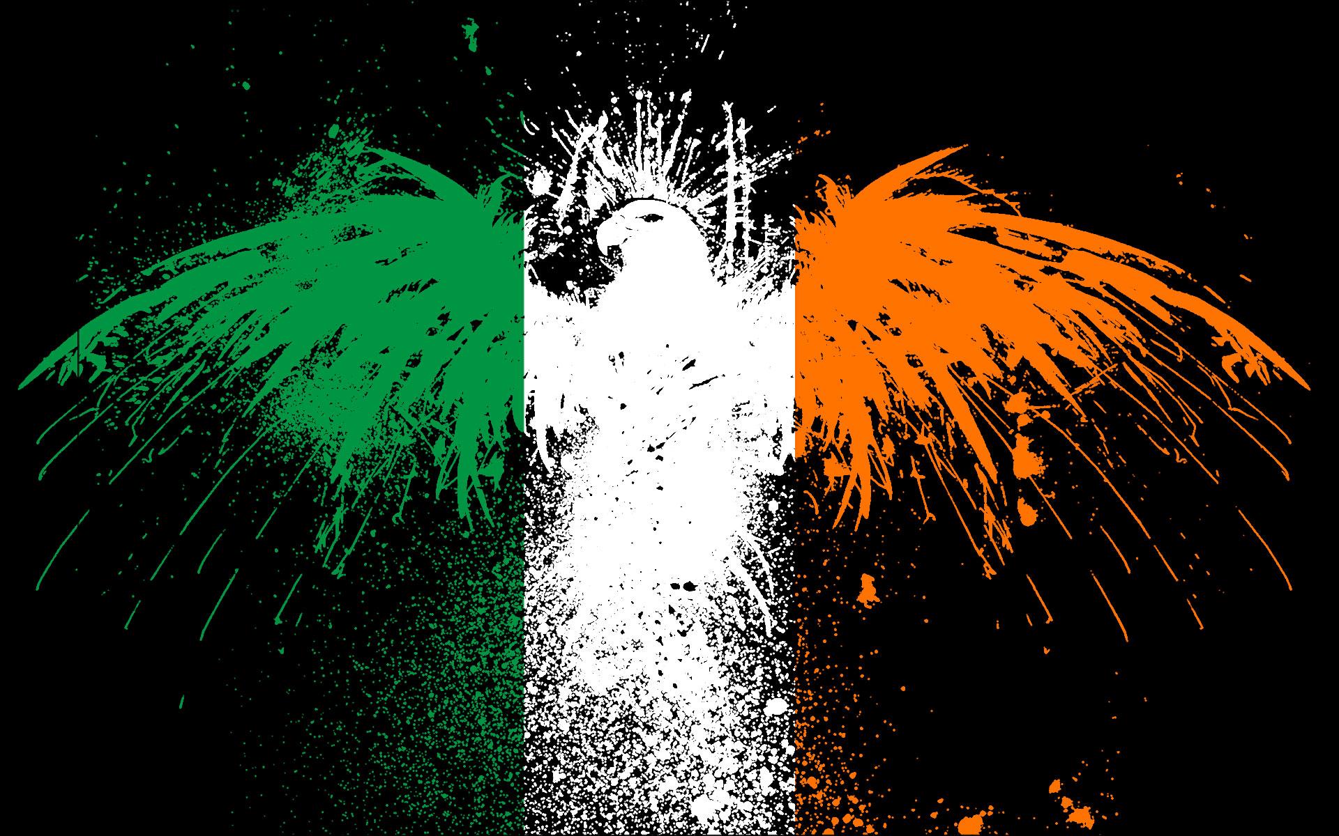 ireland flags wallpaper 1920x1200 222375 wallpaperup
