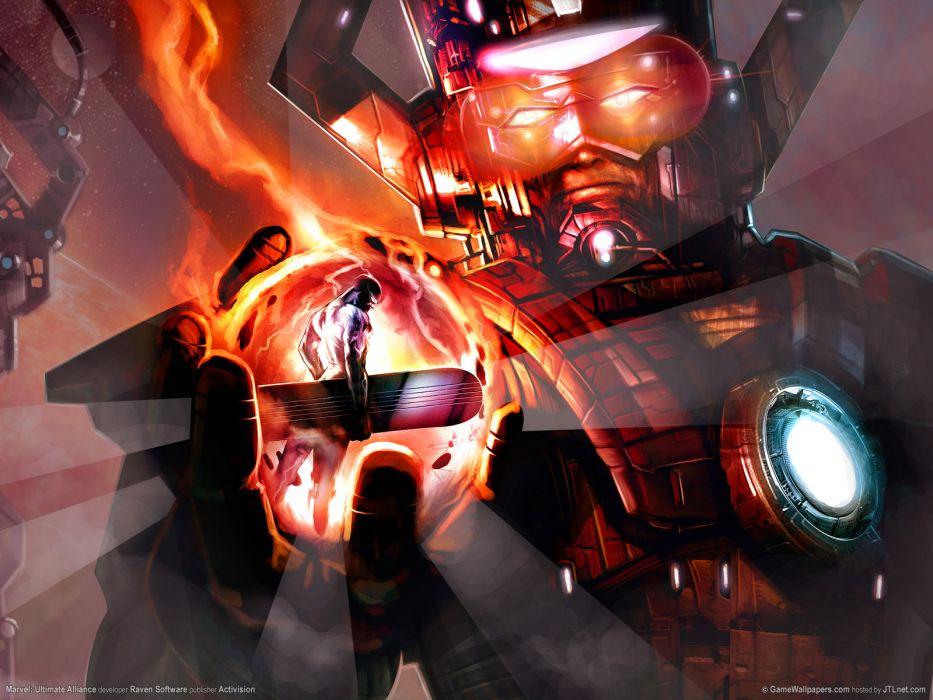 video games comics giant Silver Surfer artwork Marvel Comics Galactus Marvel wallpaper