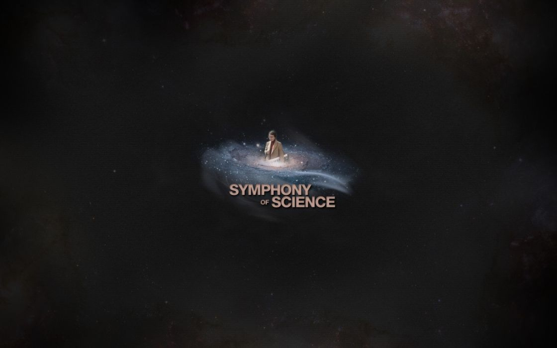outer space stars galaxies keyboards Carl Sagan Symphony of Science wallpaper