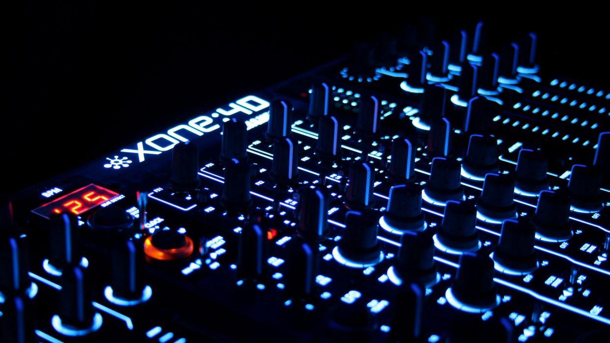 music Trance beat Allen and Heath Xone:4D wallpaper