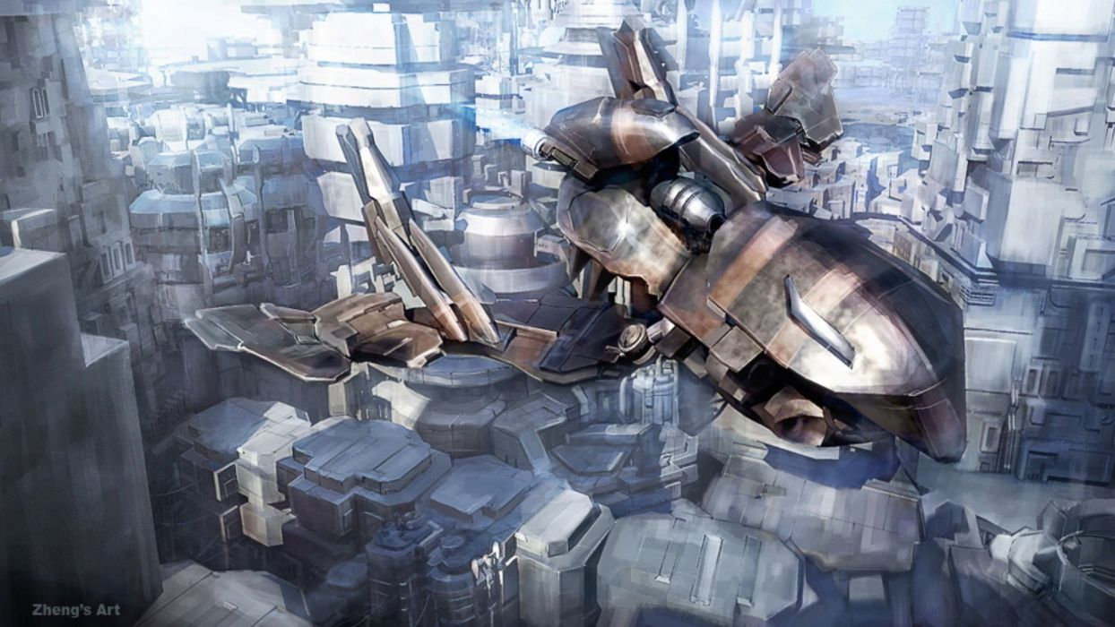 cityscapes futuristic fantasy art artwork fans wallpaper