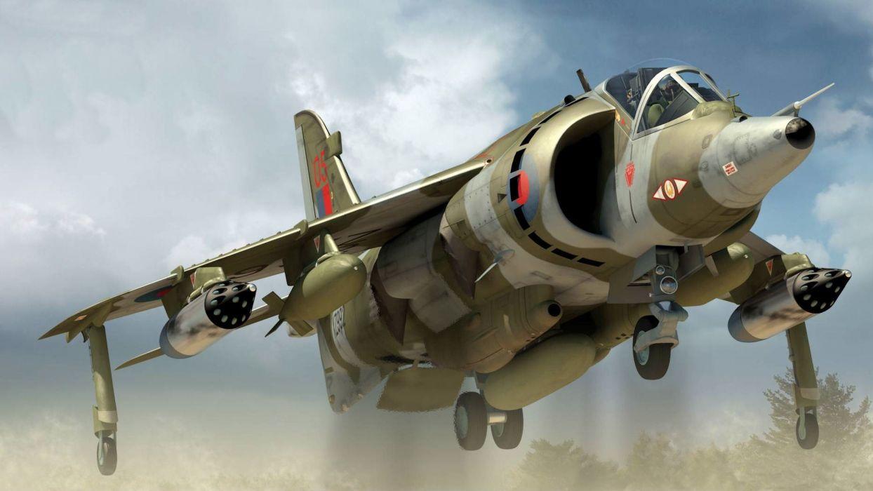 aircraft harrier wallpaper