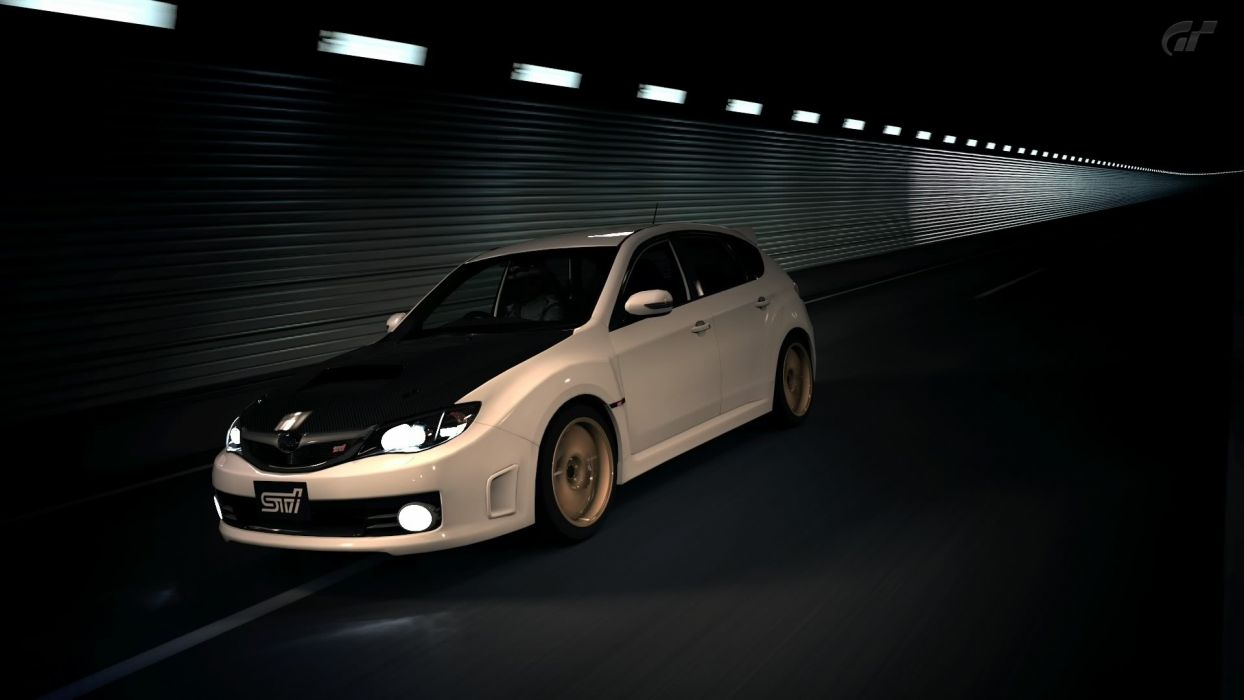 video games cars Gran Turismo 5 Playstation 3 Subaru Impreza WRX STI wallpaper