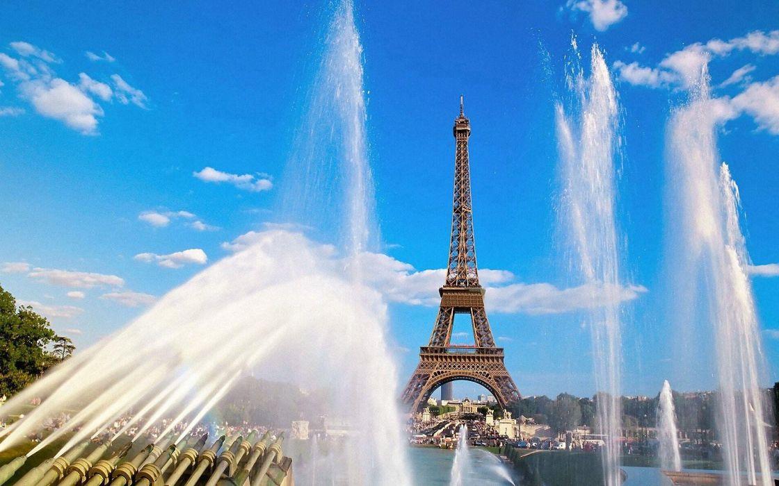 Eiffel Tower Paris nature architecture Classic wallpaper