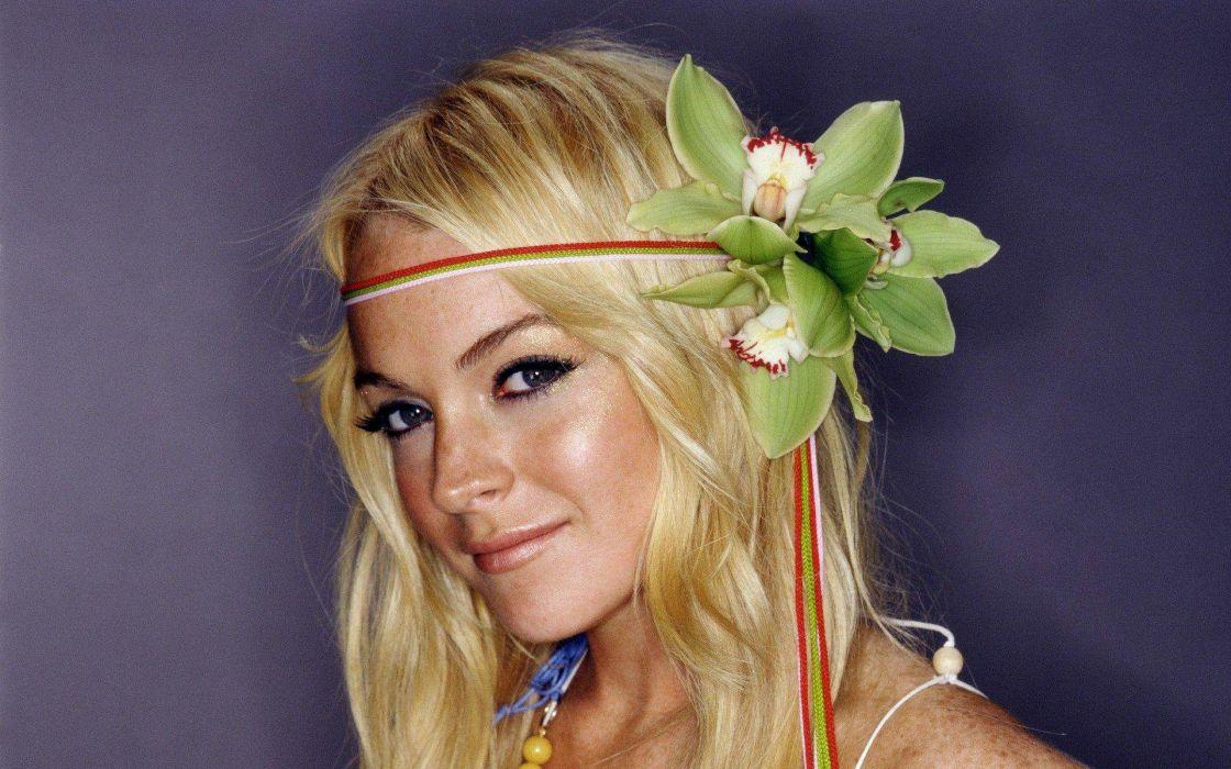 women actress Lindsay Lohan wallpaper