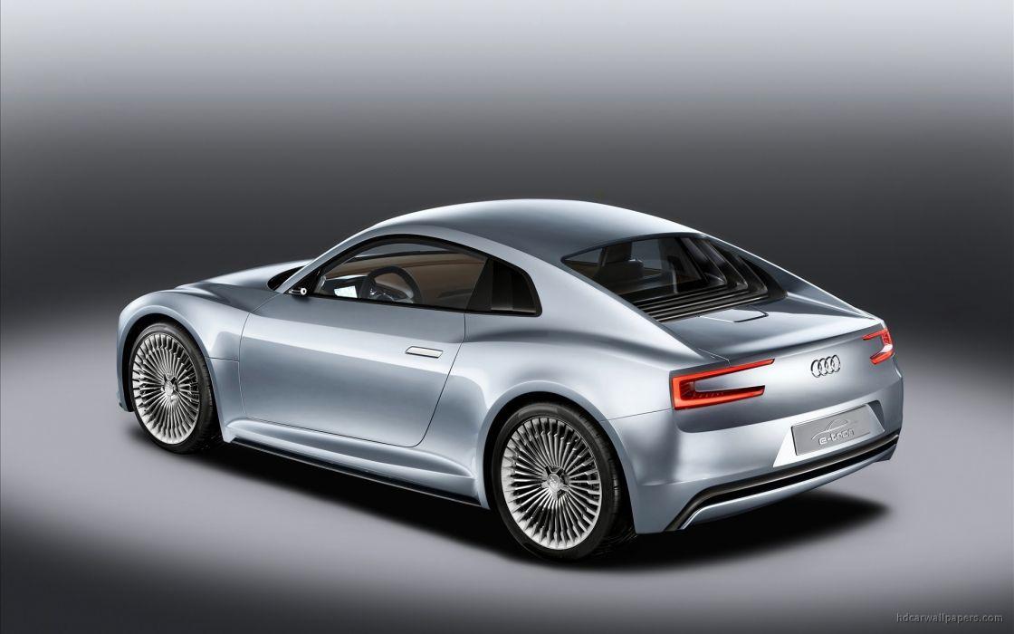cars Audi Tron vehicles wallpaper