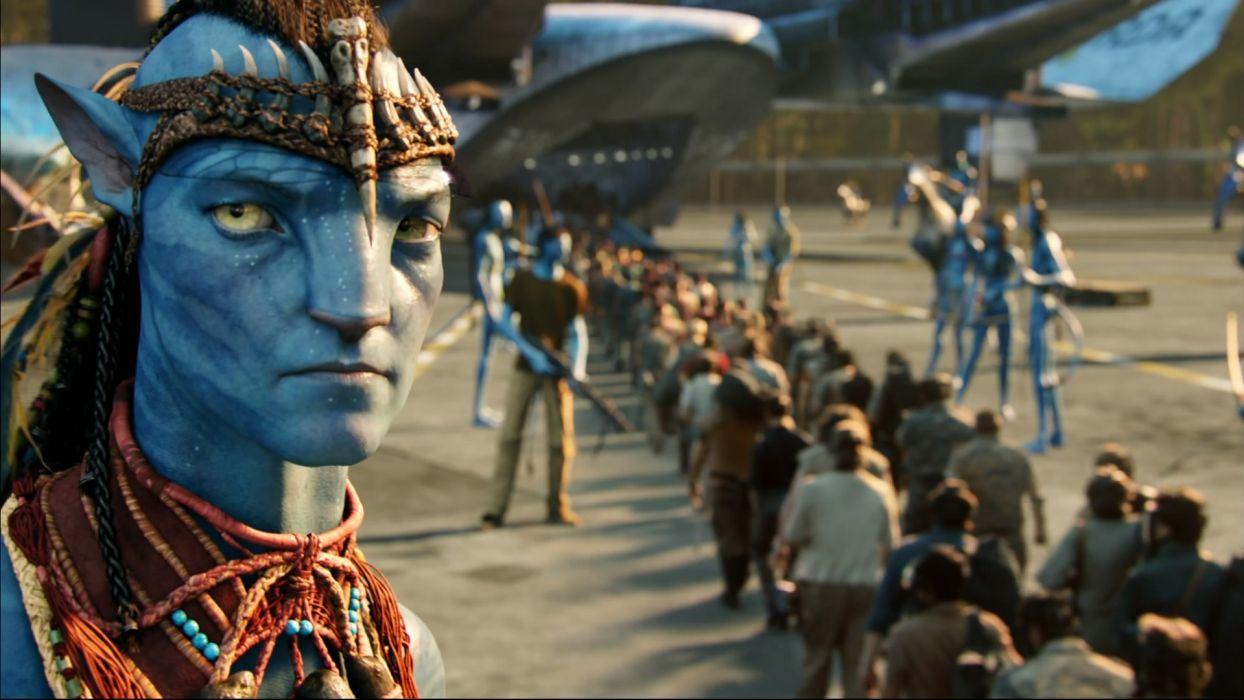 Avatar airship Sam Worthington Jake Sully wallpaper