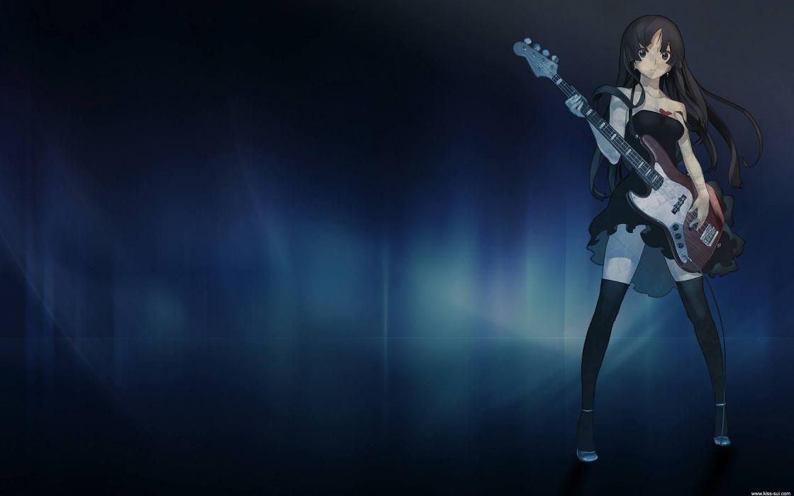 K-ON! Akiyama Mio anime girls wallpaper