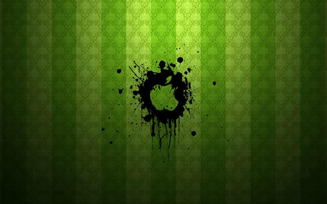 green Apple Inc_ logos wallpaper
