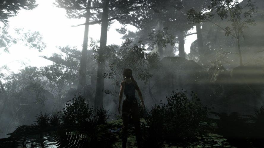 rain Tomb Raider Sunny Rise wallpaper