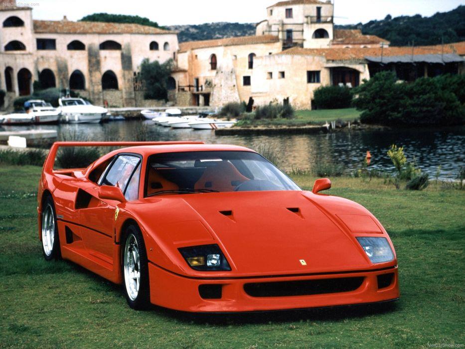 Ferrari F40 1987 wallpaper