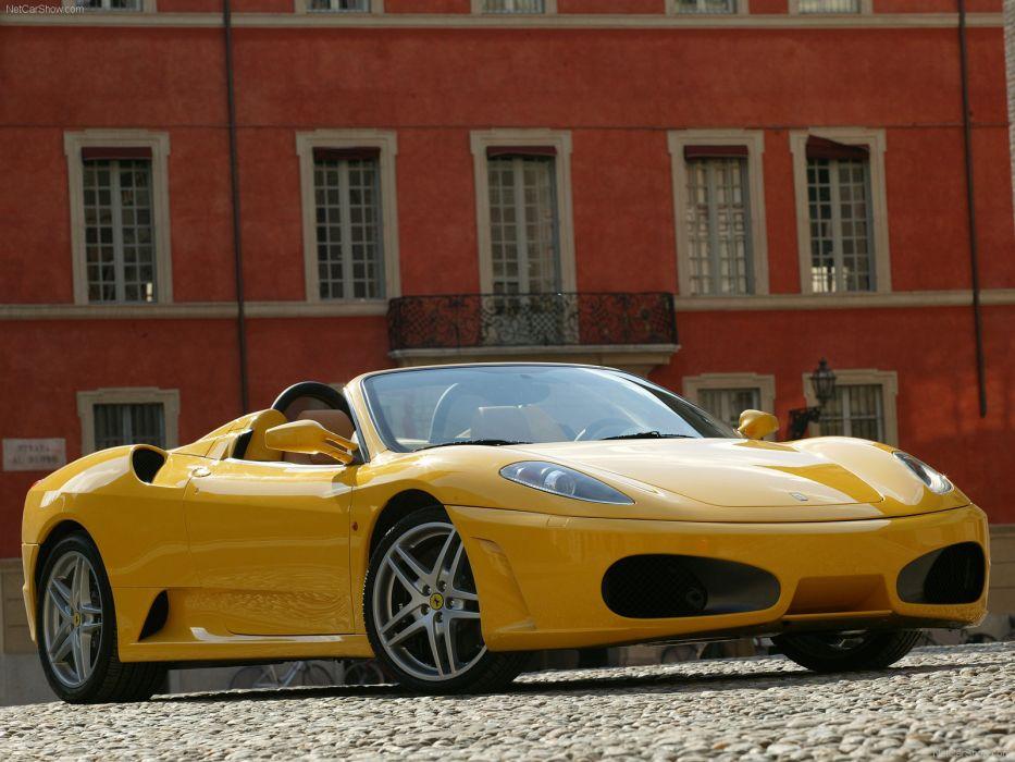 Ferrari F430 Spider 2005 wallpaper