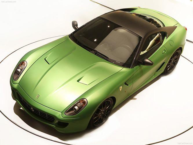 Ferrari 599 GTB HY-KERS Concept 2010 wallpaper