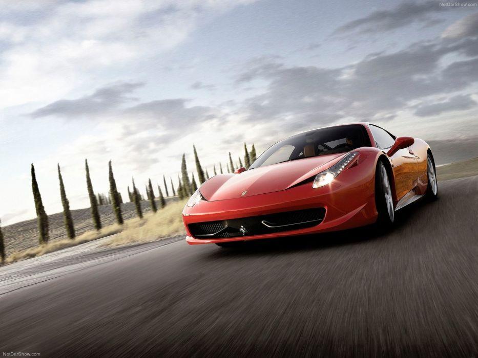 Ferrari 458 Italia 2011 wallpaper