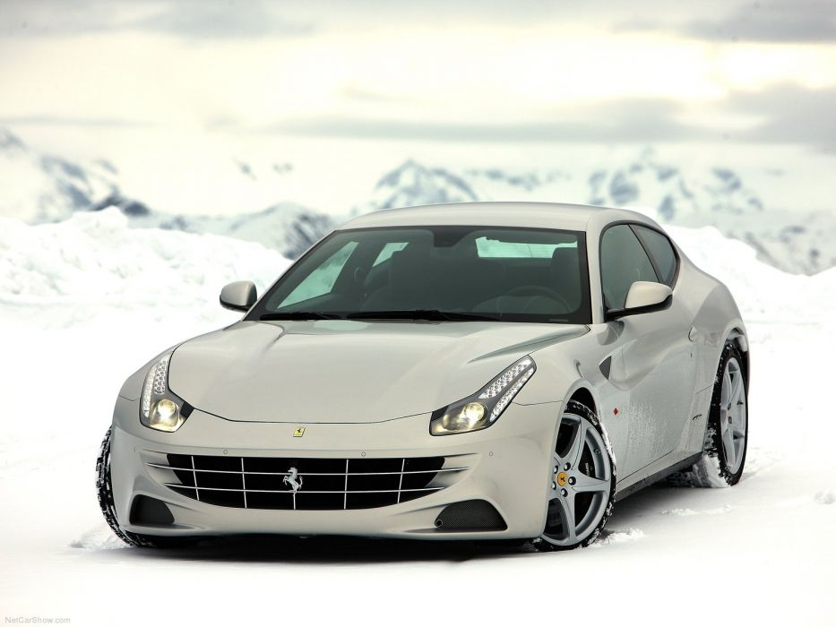 Ferrari FF Silver 2012 wallpaper