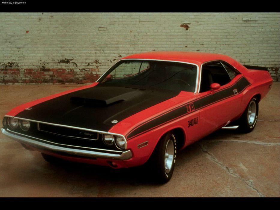 Dodge Challenger TA 1970 wallpaper