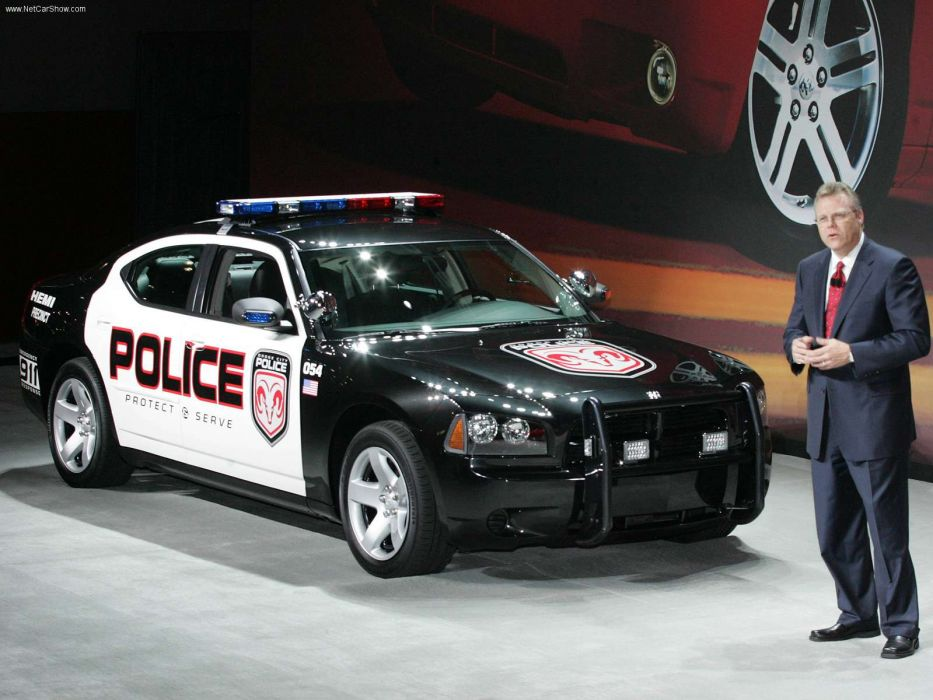 Dodge Charger Police Vehicle 2006 wallpaper