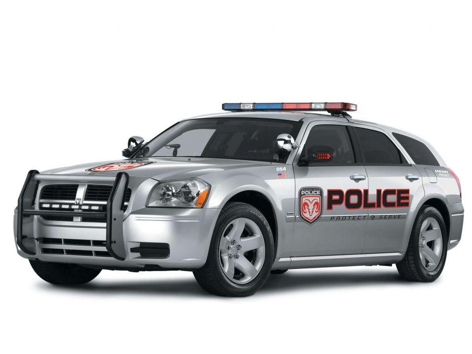 Dodge Magnum Police Vehicle 2006 wallpaper