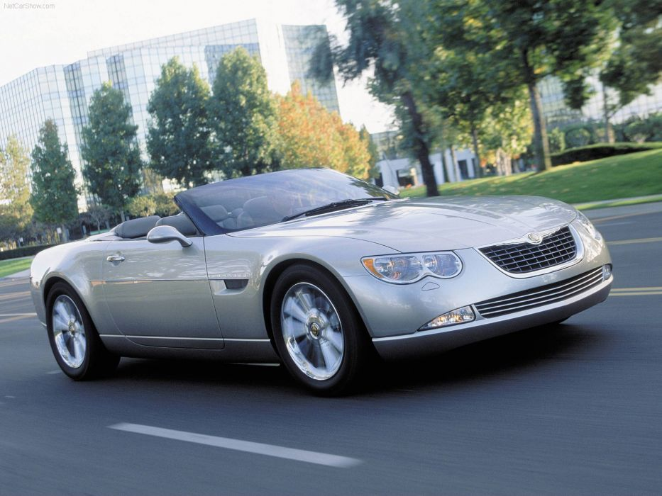 Chrysler 300 HEMI C Convertible Concept 2000 wallpaper