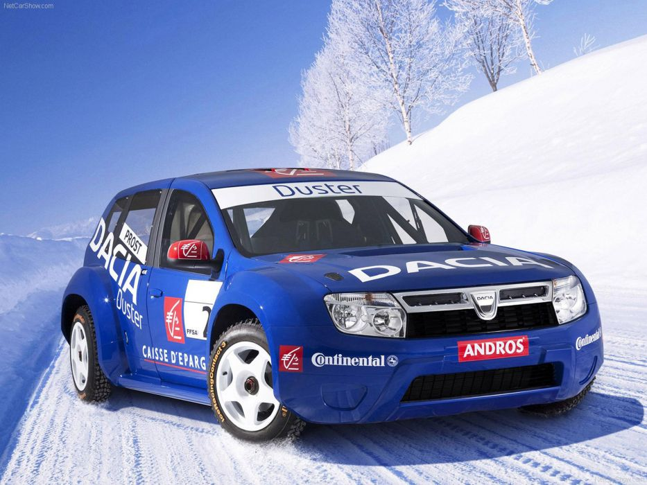 Dacia Duster Trophee Andros 2010 wallpaper