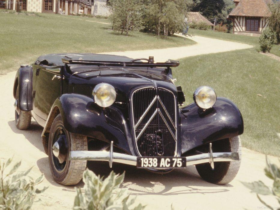 Citroen Traction Avant 11B Cabrio 1938 wallpaper